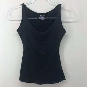 Spanx | Black Shapewear Tank Top | Size Small